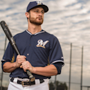 MARYVALE, AZ - FEBRUARY 23: Jonathan Lucroy #20 of the Milwaukee Brewers poses for a portrait on photo day at the Milwaukee Brewers Spring Training Complex in Maryvale, Arizona on February 23, 2014. (Photo by Rob Tringali/Getty Images) Getty Images