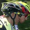 Tinkoff-Saxo team rider Alberto Contador of Spain (L) talks with his team mate Peter Sagan of Slovakia during a team training session in Utrecht, Netherlands, July 2, 2015. The 2015 Tour de France cycling race will start in Utrecht, on Saturday July 4. REUTERS/Stefano Rellandini