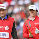 <p/>Rory McIlroy opened the 142nd Open Championship at Muirfield with a disappointing round of 8-over 79.(Getty Images)</a></p> <p>&#8221; align=&#8221;left&#8221; border=&#8221;0&#8243; /> <p>Rory McIlroy searching for help after a fat 79</p> <p><br clear=