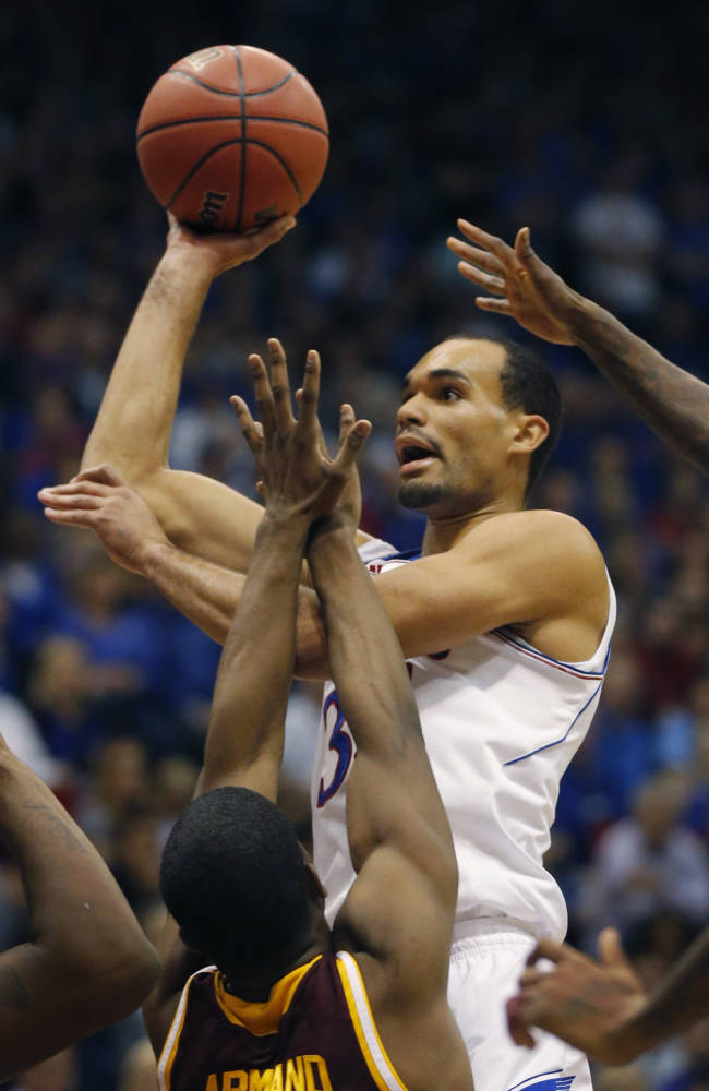Embiid shines for dad as No. 2 KU beats Iona 86-66