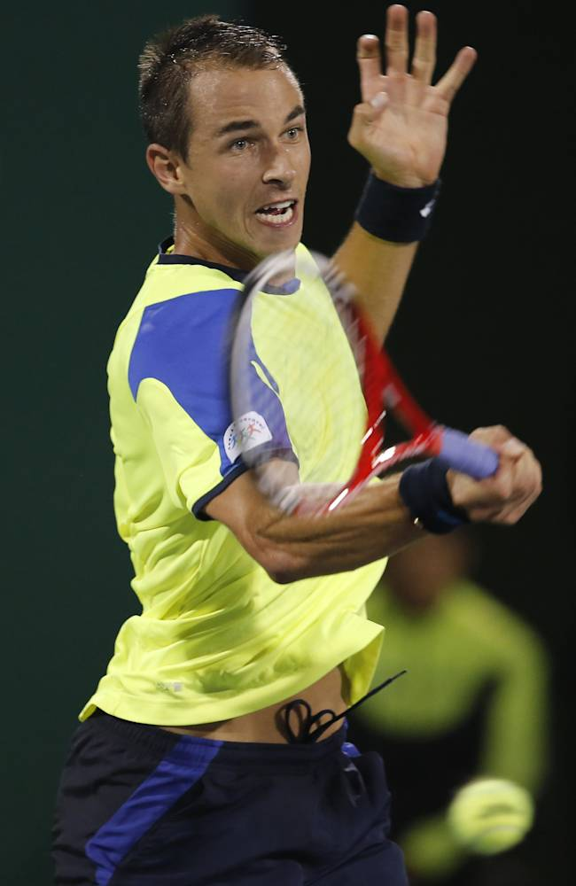 Czechs Stepanek, Rosol reach 2nd round in Vienna
