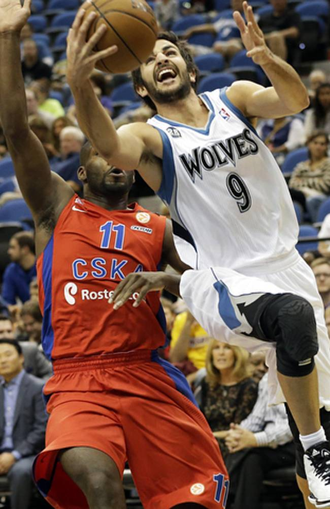 CSKA beats Timberwolves 108-106 in exhibition