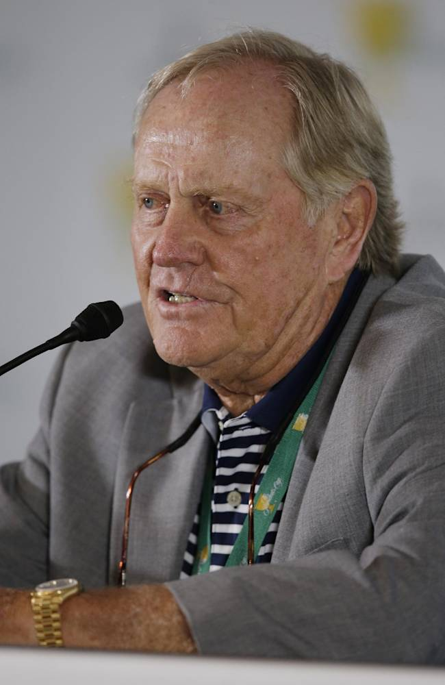Nicklaus holds court prior to Presidents Cup
