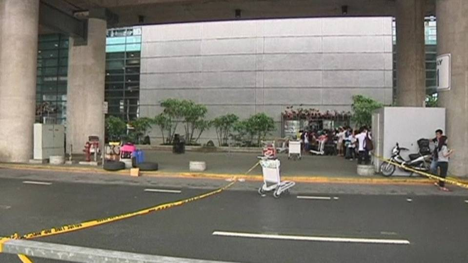 Four killed during shooting at Manila airport