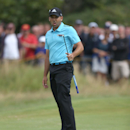 Sergio Garcia of Spain misses a putt on the 10th green during the final round of the British Open Golf championship at the Royal Liverpool golf club, Hoylake, England, Sunday July 20, 2014