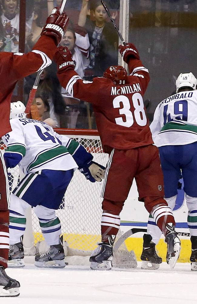 Phoenix tightens up D in 1-0 win over Vancouver