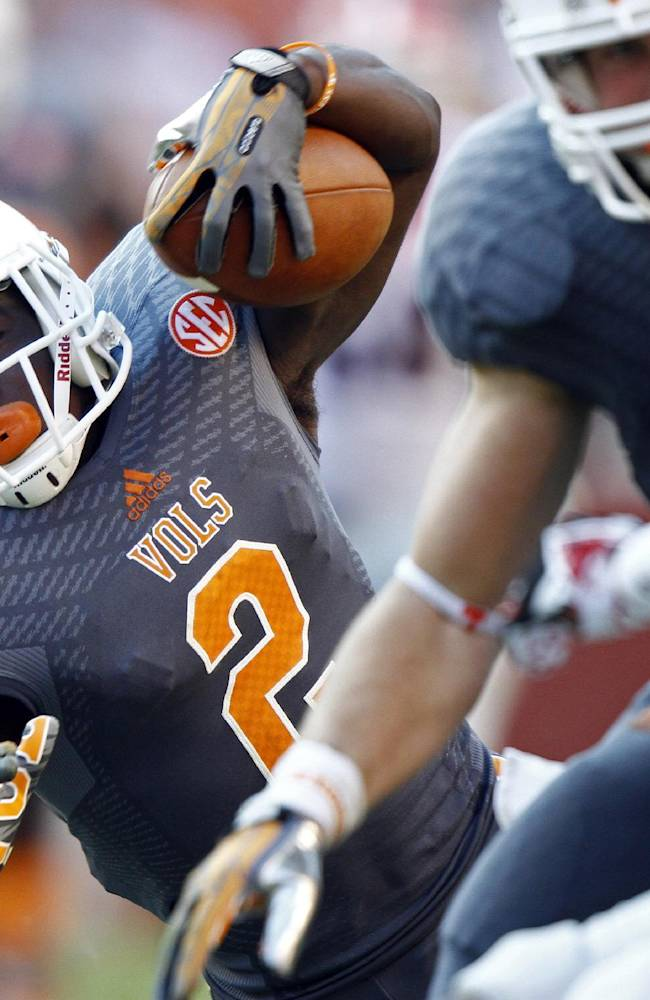 Vols' Howard thankful for positive feedback
