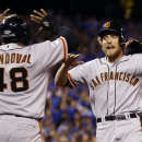 Pence's 2-run HR helps Giants lead Royals 3-0 The Associated Press
