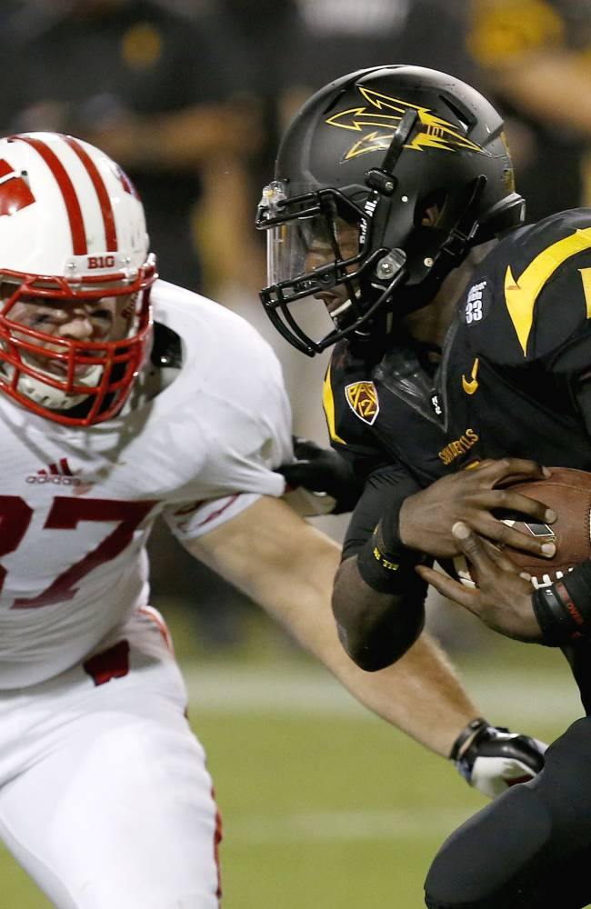 Sun Devils earn strange 32-30 win over Badgers