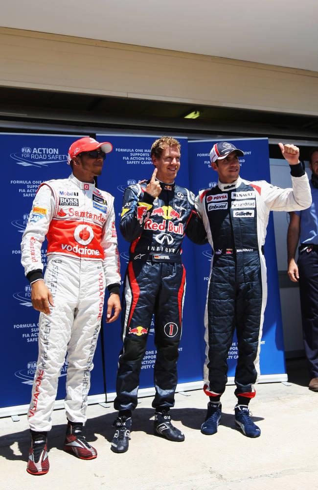 European F1 Grand Prix - Qualifying