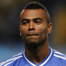 Chelsea's Ashley Cole at Stamford Bridge stadium in London, in this Wednesday, Sept. 18, 2013 file photo. Chelsea manager Jose Mourinho wants Ashley Cole to stay at the club, but believes the defender could be persuaded to move to the United States