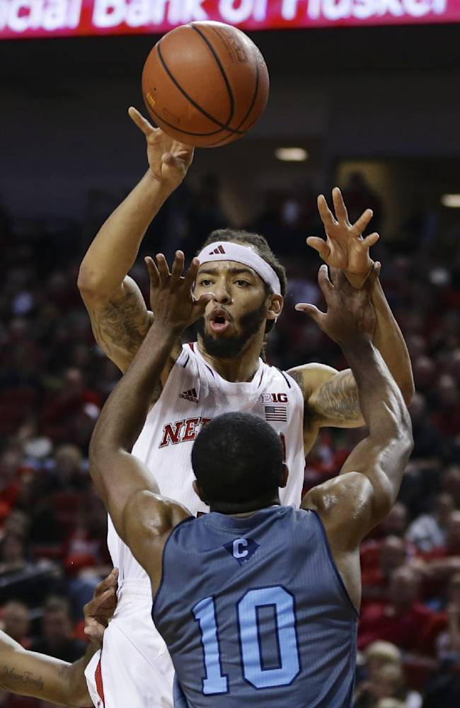 Nebraska tops The Citadel 77-62