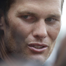 New England Patriots quarterback Tom Brady speaks with reporters following an NFL football training camp practice at Gillette Stadium, Thursday, July 24, 2014, in Foxborough, Mass. (AP Photo) The Associated Press
