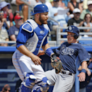Martin homers, Blue Jays blank Rays The Associated Press
