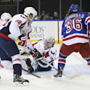 Capitals' Grubauer stops 30 shots in 1st NHL win The Associated Press