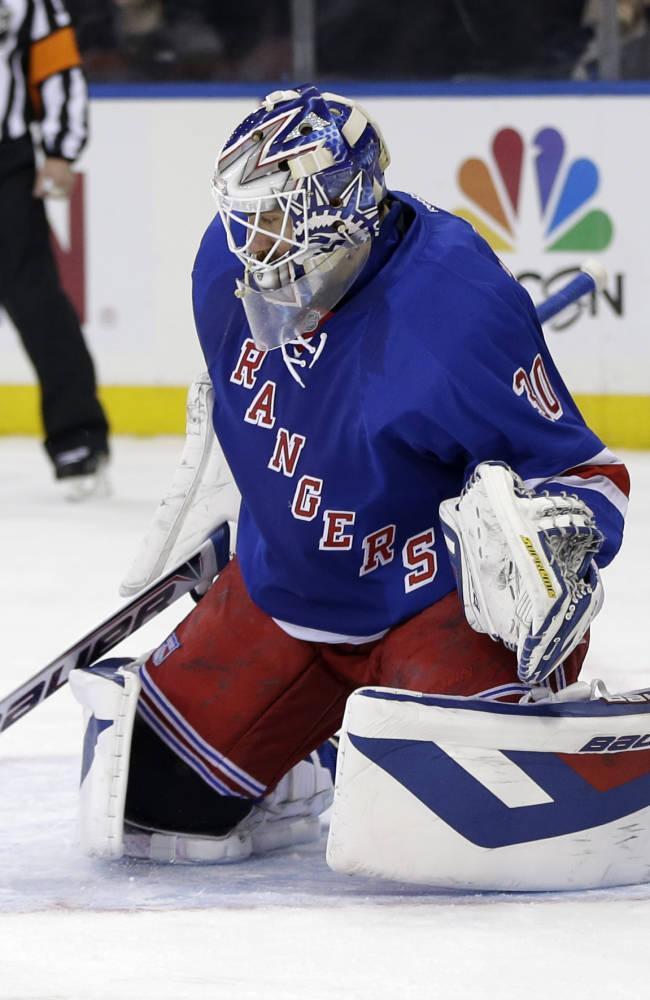 Rangers ride 3-goal 1st to rout of Flyers