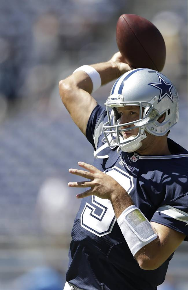 Peyton-type time or not, Romo in Manning shadow