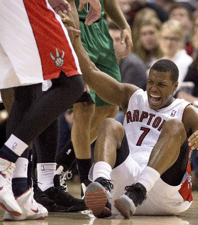 Raptors clinch playoff berth with win over Celtics