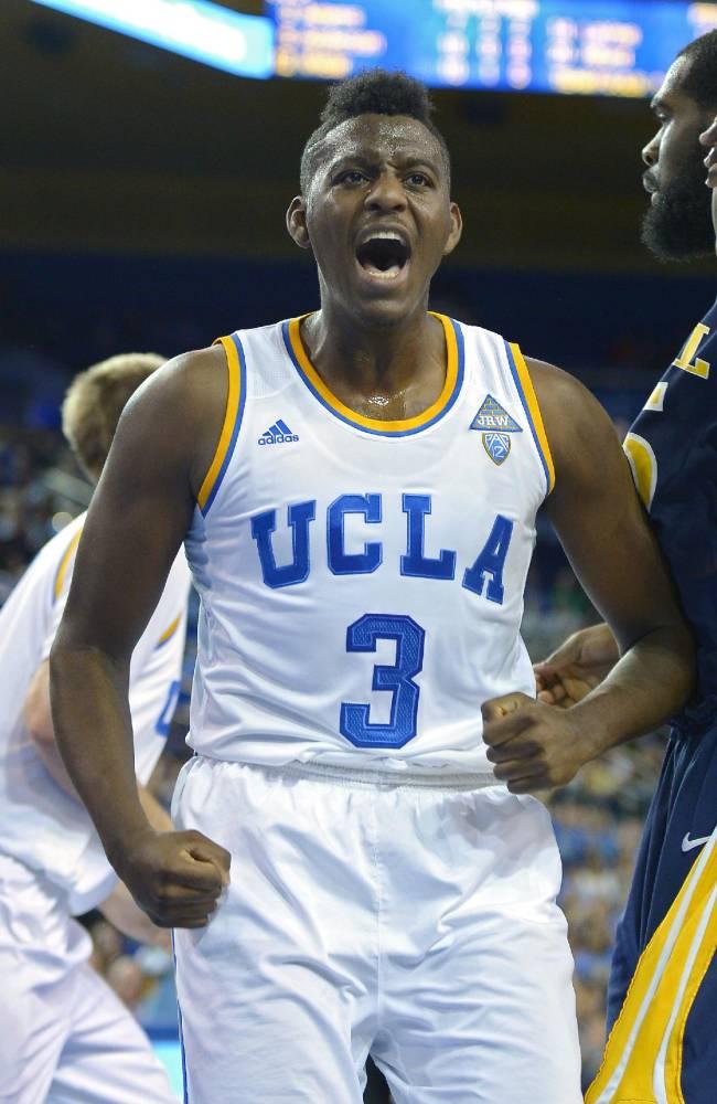 No. 22 UCLA beats Drexel 72-67 in Alford's debut