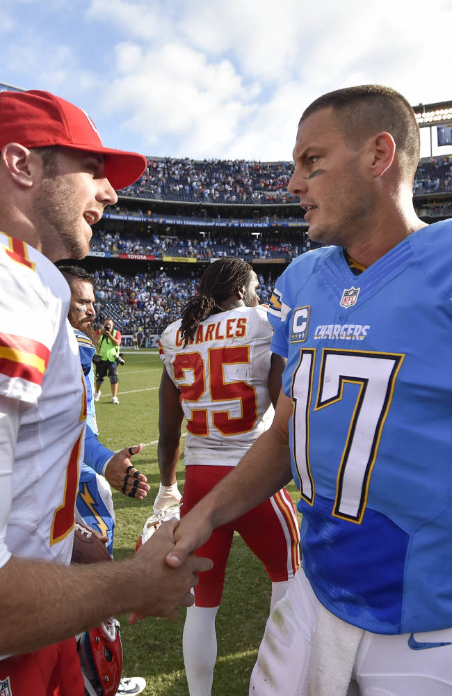 Chiefs show resiliency in win over San Diego