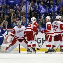 Detroit Red Wings v Tampa Bay Lightning - Game One Getty Images