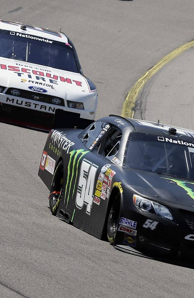 Hornish Jr. win Nationwide race in Iowa