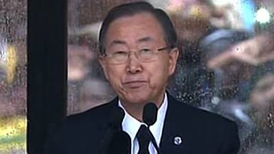 Moon: 'South Africa Has Lost a Hero'
