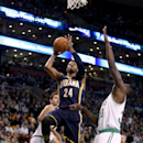 George's 25 points lead Pacers over Celtics 102-97 The Associated Press