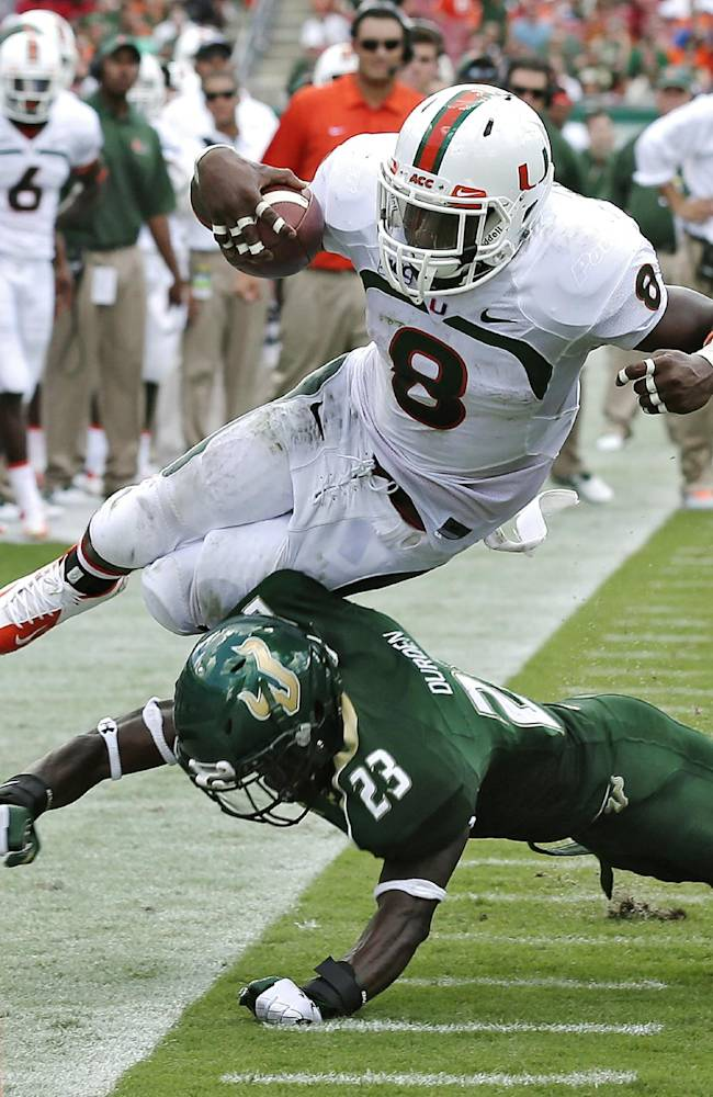 No. 14 Miami clearly much deeper than a year ago