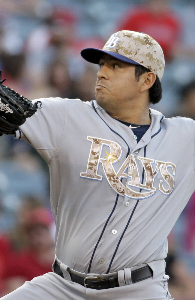 Wilson shuts out Rays on 5 hits, 6-0