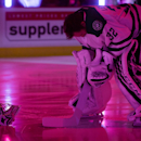 Dallas Stars goalie Kari Lehtonen, of Finland, looks at the ice during the singing of the national anthems before an NHL hockey game against the Vancouver Canucks on Wednesday, Dec. 17, 2014, in Vancouver, British Columbia The Associated Press