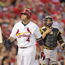 Cardinals C Molina leaves game with sprained thumb The Associated Press