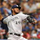 Gallardo pitches Brewers past Cubs 3-1 The Associated Press