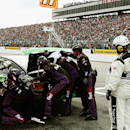 Fueling issue knocks Hamlin out of contention