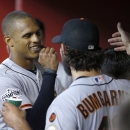 Maxwell hits HR, Pence has key hit as Giants beat D-backs The Associated Press