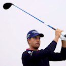 Henrik Stenson of Sweden tees off on the 15th hole during the first round of the BMW Masters 2015 golf tournament at Lake Malaren Golf Club in Shanghai, China, November 12, 2015. REUTERS/Aly Song