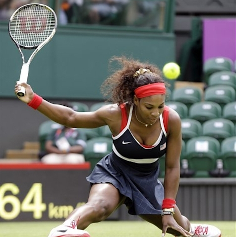 Serena Williams has first lady cheering at games The Associated Press Getty Images