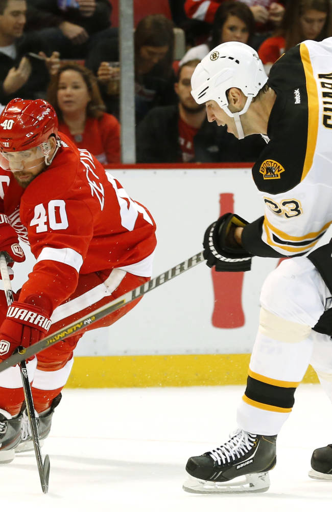 Zetterberg out at least 2 weeks for Red Wings