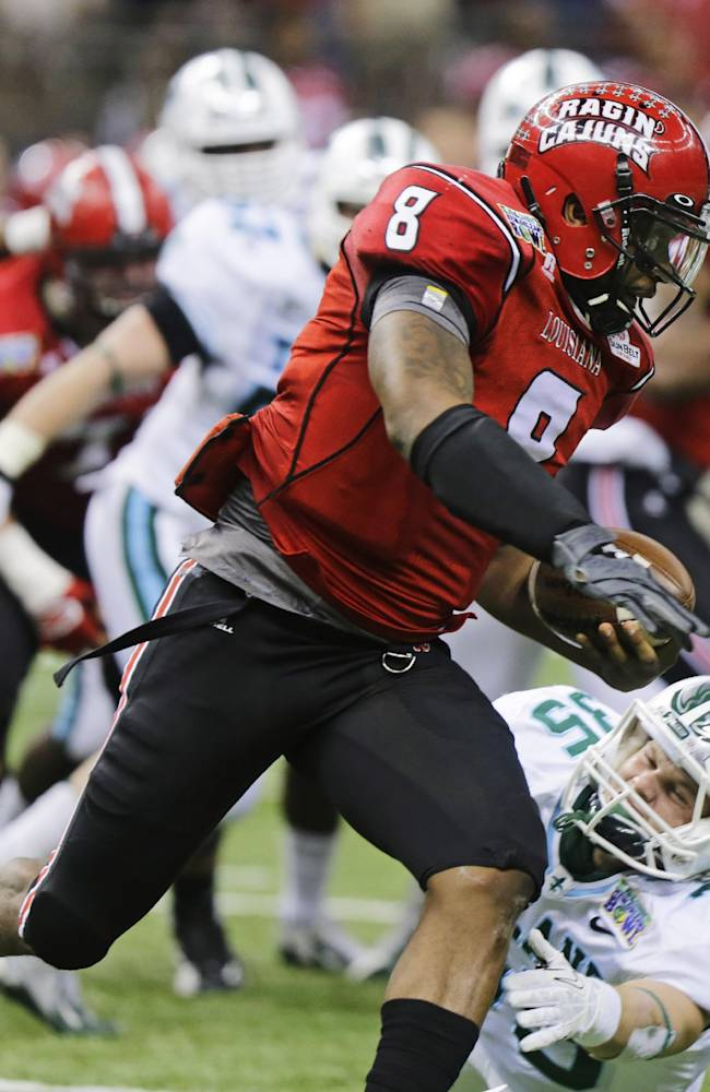 Louisiana-Lafayette downs Tulane 24-21 in NO Bowl