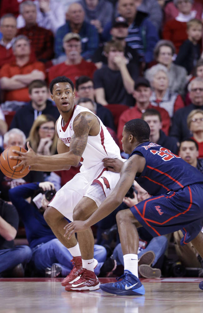 Hot-shooting Bell sparking Arkansas' surge