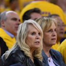 FILE - JULY 28, 2014: A California judge has issued a preliminary ruling against Donald Sterling that would allow his wife Shelly Sterling to sell the NBA Los Angeles Clippers to former Microsoft chief Steve Ballmer for $2 billion, according to published reports. OAKLAND, CA - APRIL 27: Shelly Sterling, the wife of Donald Sterling owner of the Los Angeles Clippers, watches the Clippers against the Golden State Warriors in Game Four of the Western Conference Quarterfinals during the 2014 NBA Playoffs at ORACLE Arena on April 27, 2014 in Oakland, California. The players wore theirs warm up this way in protest of owner Donald Sterling's racially insensitive remarks. (Photo by Thearon W. Henderson/Getty Images)