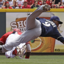 Bruce HR breaks slump, sends Reds over Brewers 4-2 The Associated Press