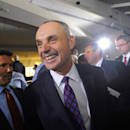 Manfred, Torre take ice bucket challenge for ALS (Yahoo Sports)