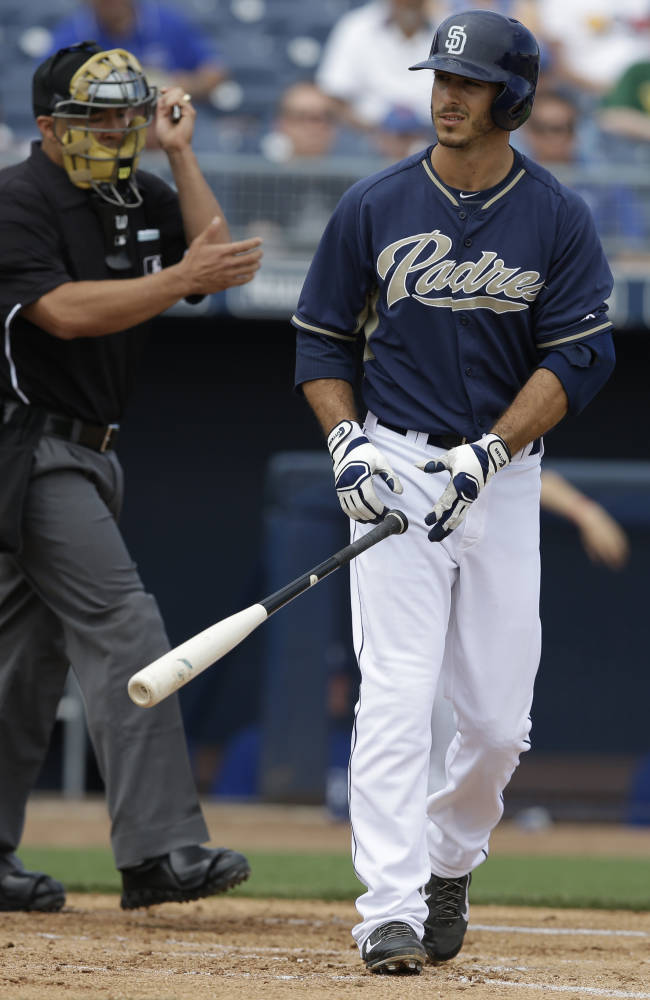 Medica, Nady make Padres roster; Quentin on DL