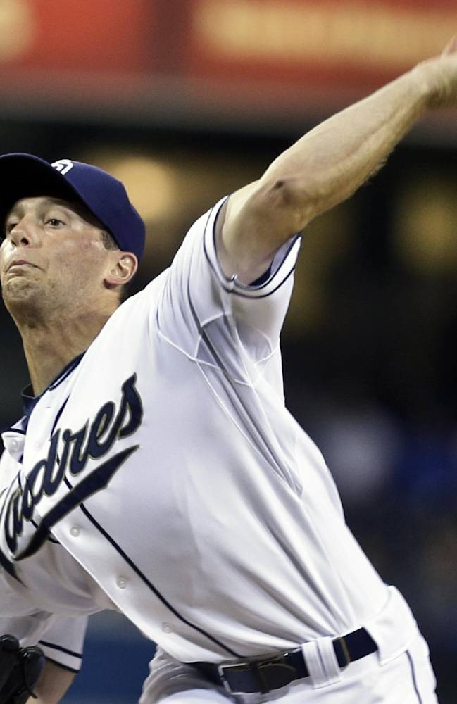 Erin, Gyorko lead Padres past Dodgers 2-0