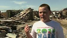 Oklahoma tornado: school survivor's tale