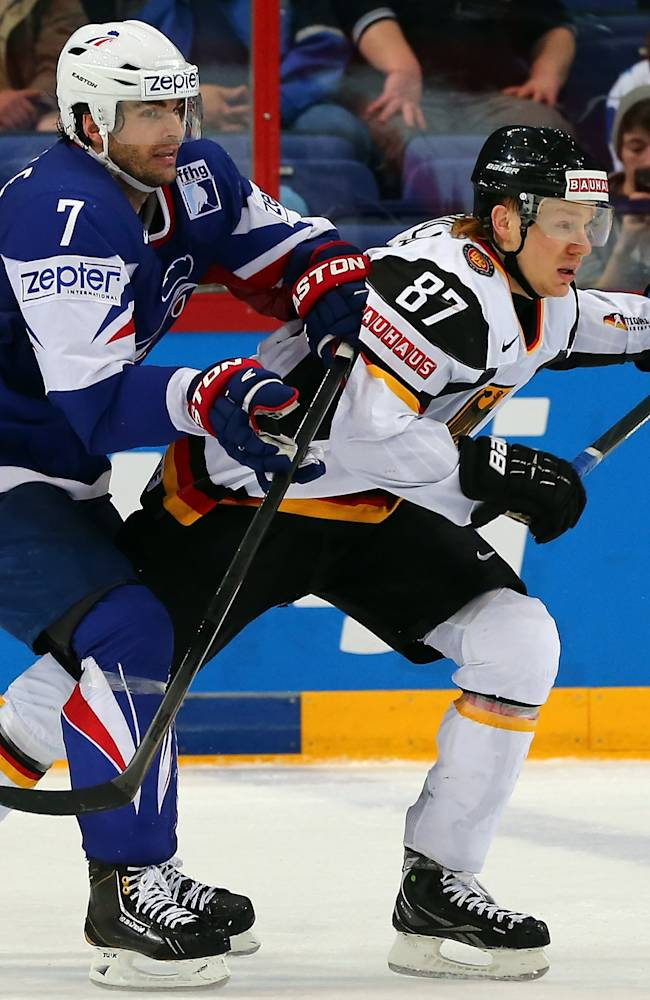 France v Germany - 2013 IIHF Ice Hockey World Championship