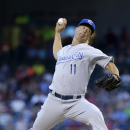 Guthrie overcomes 1st pitch HR, Royals beat Texas The Associated Press