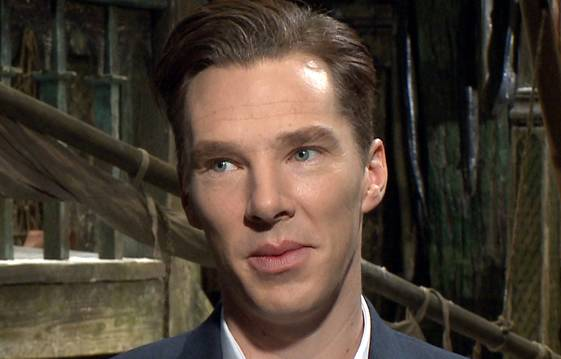 Benedict Cumberbatch Describes Attending 'The Hobbit: The Desolation Of Smaug' Hollywood Premiere