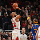 Gibson leads Bulls to 103-83 win over Warriors The Associated Press